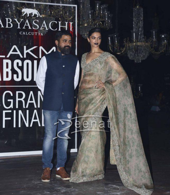 Deepika Padukone In Sabyasachi Mukherjee Saree2