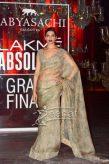 Deepika Padukone In Sabyasachi Mukherjee Saree at LFW2016