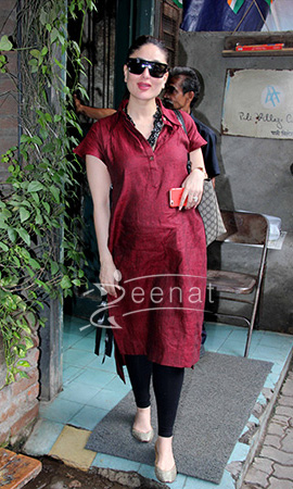 Kareena Kapoor at Mumbai Eatery in Chola