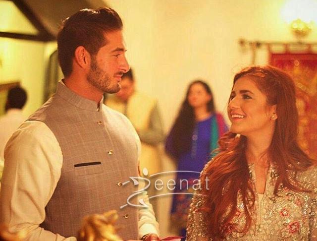 Momina Mustehsan and Ali Naqvi got Engaged