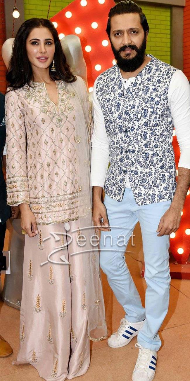 Nargis Fakhri and Riteish Deshmukh Banjo Movie