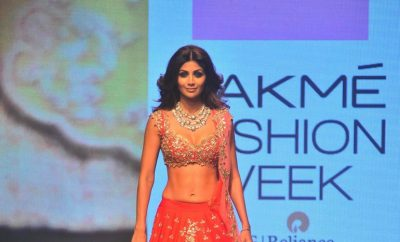 Shilpa Shetty In Anushree Reddy Lehenga Choli