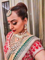 Sonakshi Sinha In Anita Dongre Lehenga Choli 2