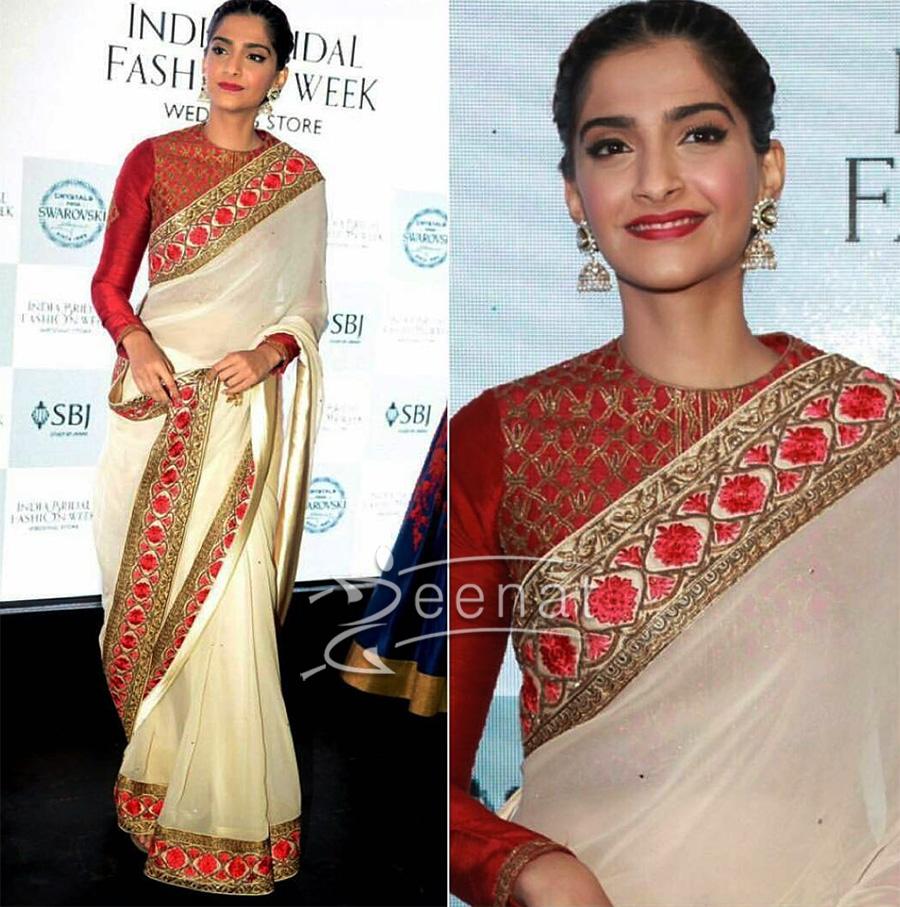 Sonam Kapoor At India Bridal Fashion Week Wedding Store Launch