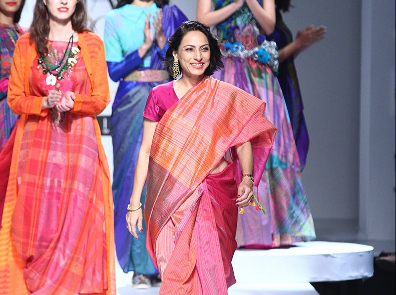 Krishna Mehta at Amazon India Fashion Week 2017 AIFWSS17