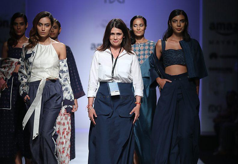 Pinnacle by Shruti Sancheti at Amazon India Fashion Week springsummer 2017 AIFWSS17