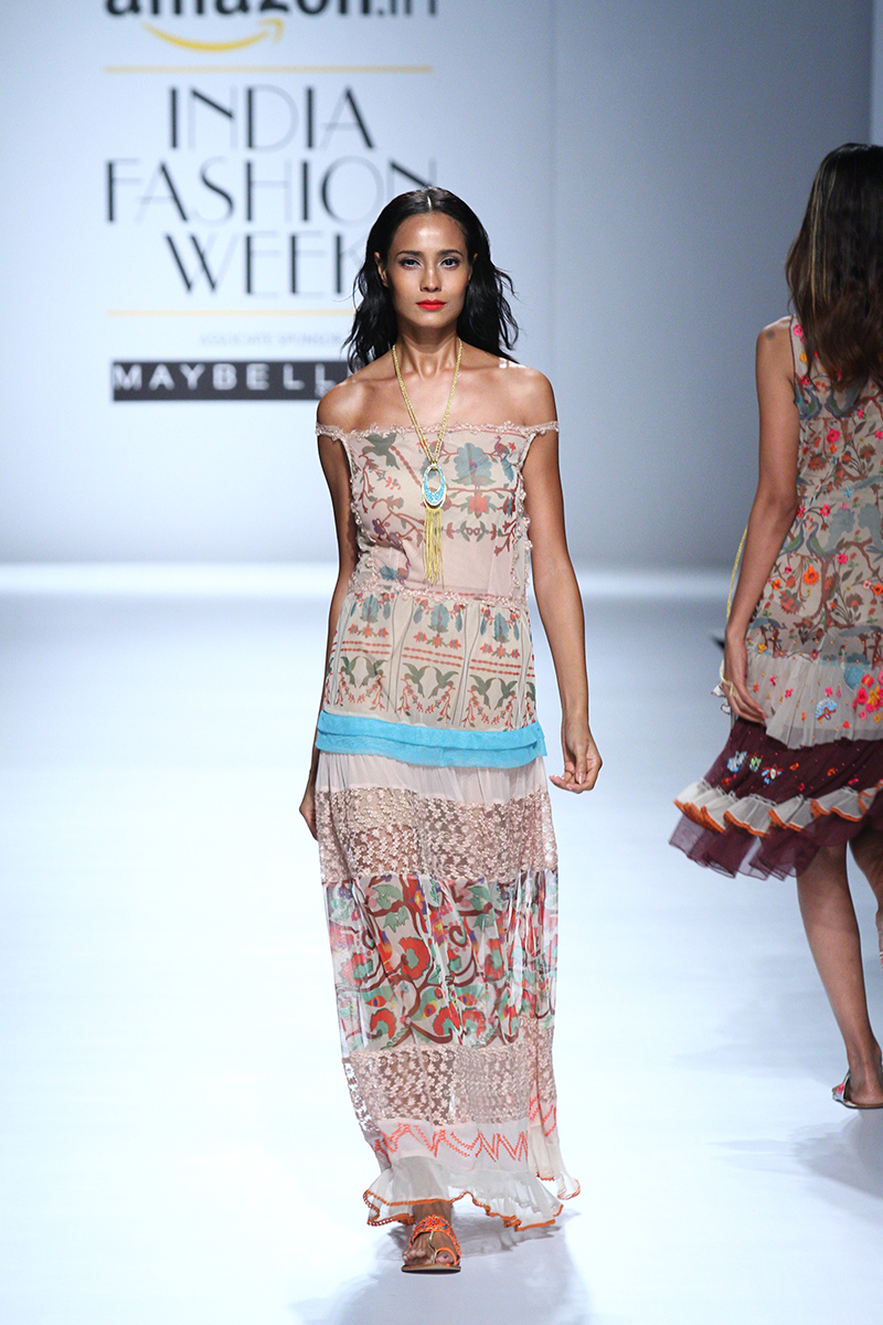 Rina Dhaka At Amazon India Fashion Week 2017 - AIFWSS17