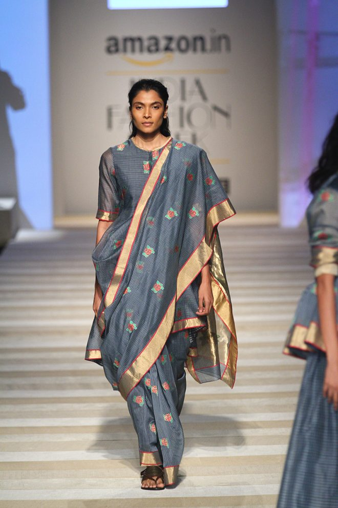 Road to Chanderi at Amazon India Fashion Week Spring/Summer 2017 – AIFW2016