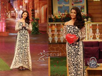 Aishwarya Rai In Manish Malhotra Ae Dil Hai Mushkil Promotions