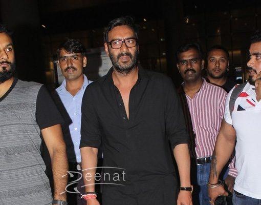 Ajay Devgan Black Salwar Kameez