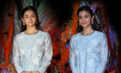 Alia Bhatt in AM PM Fashion Kurta
