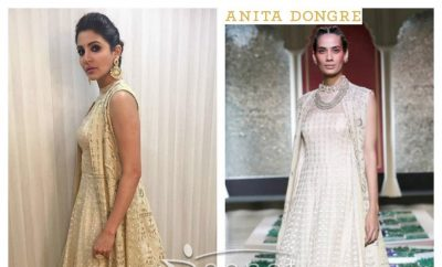 Anushka Sharma In Anita Dongre For Ae Dil Hai Mushkil Promotions