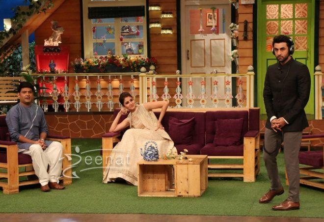 Anushka Sharma In The Kapil Sharma Show