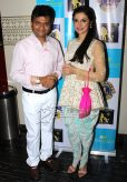 Divya Khosla Kumar In The Little Black Bow Outfit