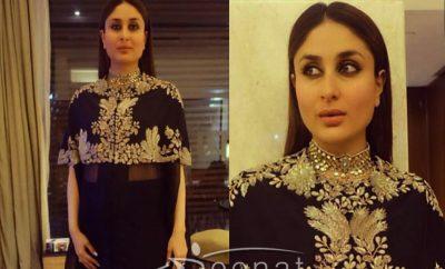 Kareena Kapoor In Anamika Khanna Black Outfit