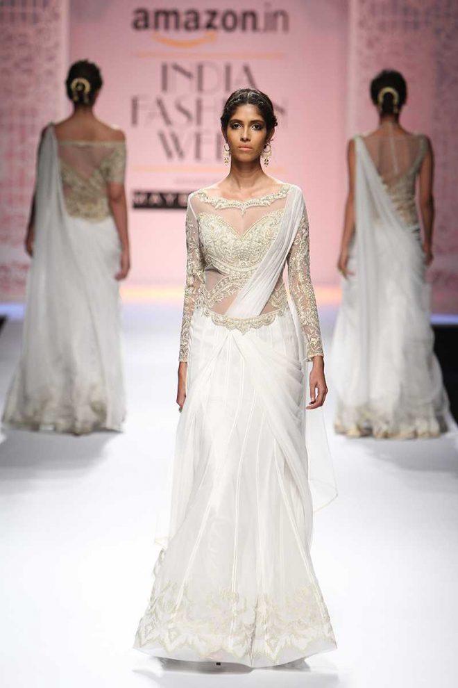 Mandira Wirk At Amazon India Fashion Week Day 4 AIFWSS17