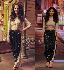Saiyami Kher In Payal Singhal At The Kapil Sharma Show