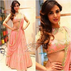 Sonal Chauhan In Divya Reddy at Lakme Fashion Week