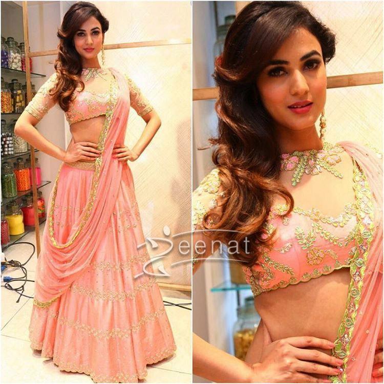 Sonal Chauhan In Divya Reddy at Lakme Fashion Week