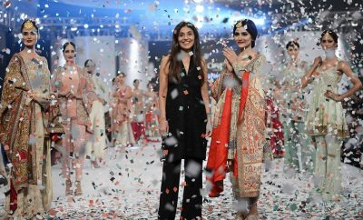 Shamsha Hashwani Bridal Collection at PLBW 2016