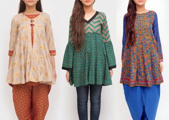 Latest Angrakha Trend - Small Frocks