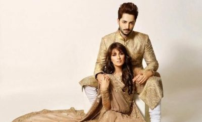 Ayeza Khan and Danish Taimoor for Amina Yasmeen