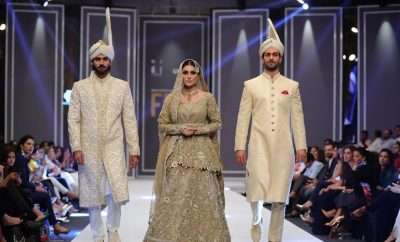 Deepak Perwani Ishq Bridal Collection at FPW 2016