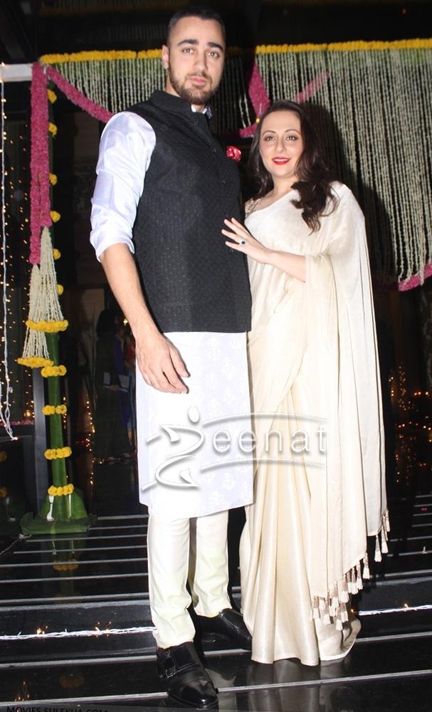 Imran Khan in White Kurta Pajama for Diwali 2016