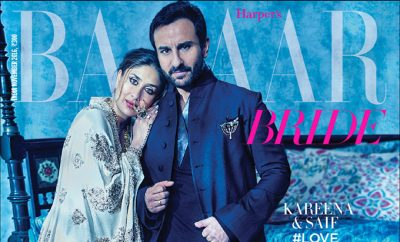 Kareena Kapoor Khan & Saif Ali Khan On The Cover of Harpers Bazaar Bride