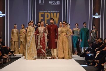 Mona Imran Showcased Goldrush At FPW 2016 Day 1