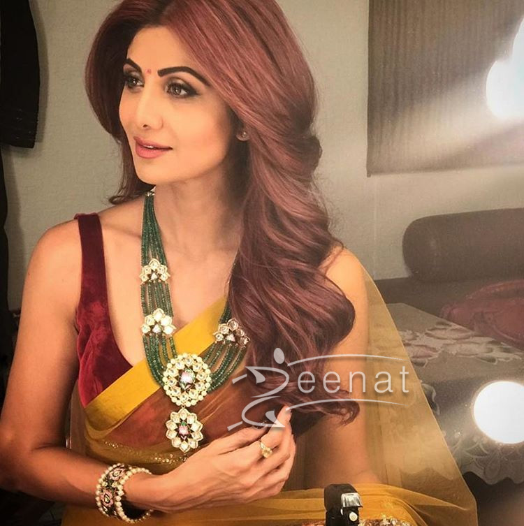 Shilpa Shetty In Manish Malhotra Saree 2017