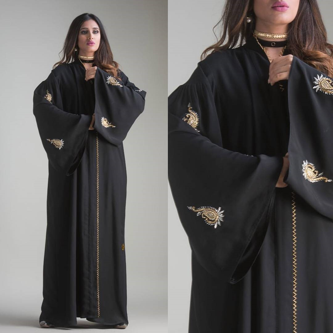 Black Orchid Abaya Designs