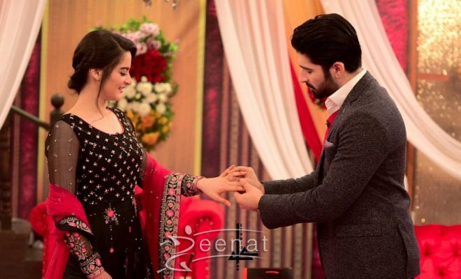 Aiman Khan and Muneeb Butt in Good Morning Pakistan