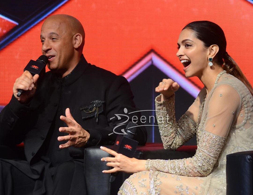 Vin Diesel in Black Desi Attire by Shantanu Nikhil