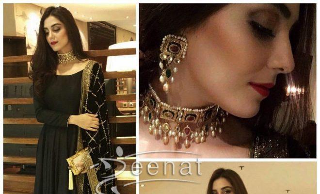 Maya Ali Slaying in Mohsin Naveed Ranjha Anarkali