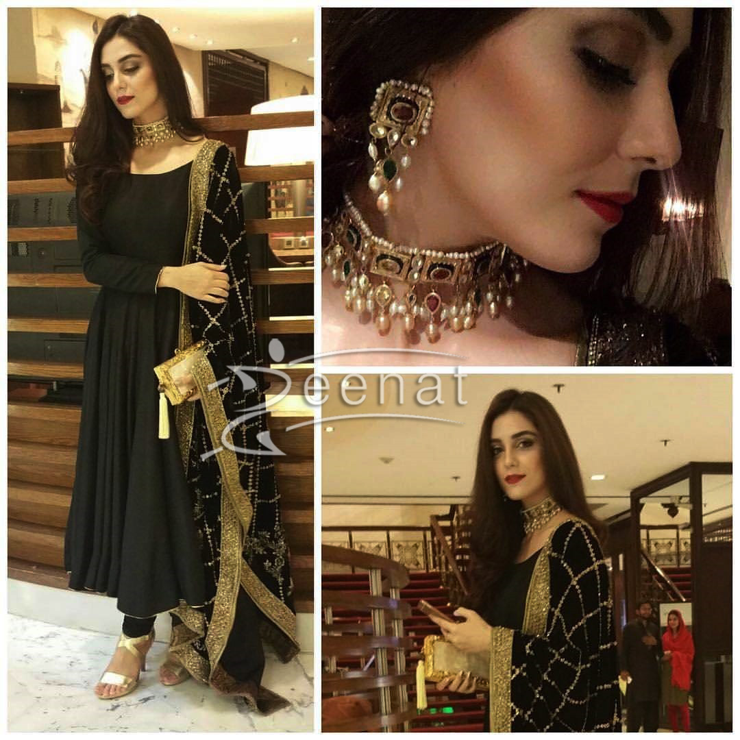 Maya Ali Slaying in Mohsin Naveed Ranjha Anarkali