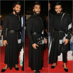 Ranveer Singh in Shantanu Nikhil Outfit at Umang 2017