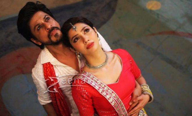 Mahira Khan's Look in Udi Udi Jaye From Raees