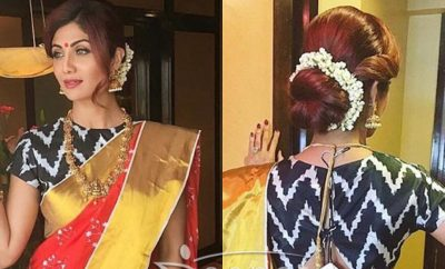 Shilpa Shetty in Masab Gupta Saree