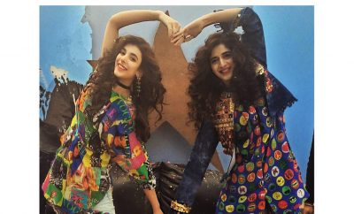 Urwa Hocane and Mawra Hocane BTS of My Rang Ja Campaign