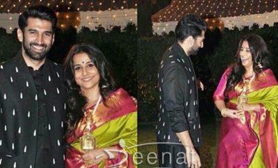Aditya Roy Kapoor In Black Kurta Pajama by Shantanu Nikhil and Prima Czar