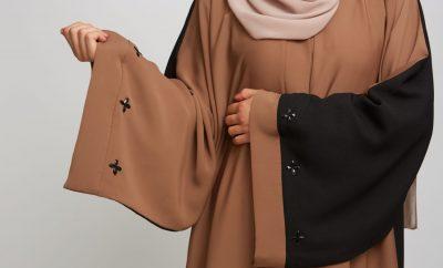 Open Jacket Abaya Style