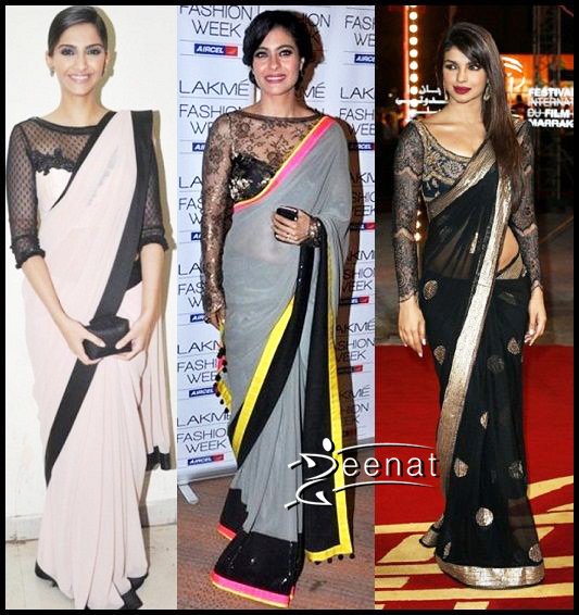 Simple Tips on styling sheer net sarees