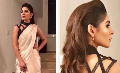 Ayesha Omar in StudioS Saree at IPPA Awards