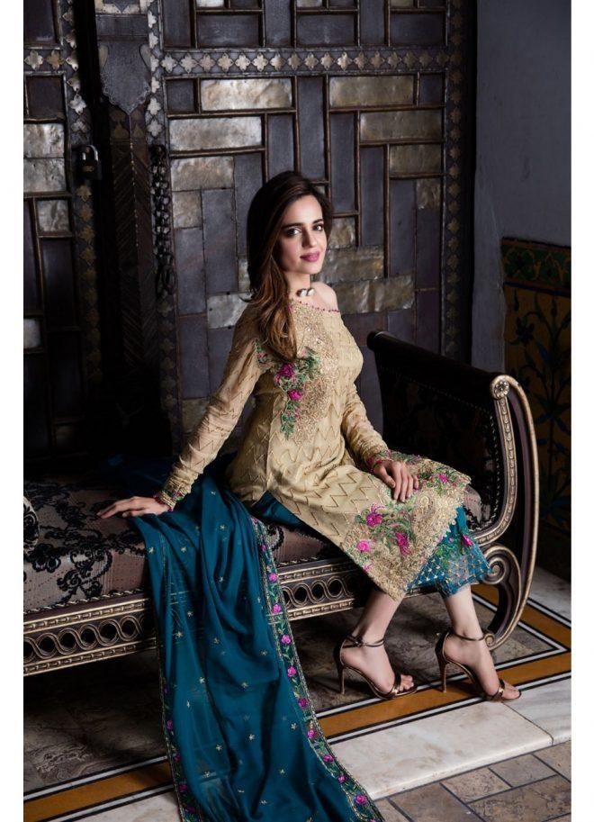 Iznik Luxury Chinon Collection 2017 – Vol 2 featuring Sumbul Iqbal Khan
