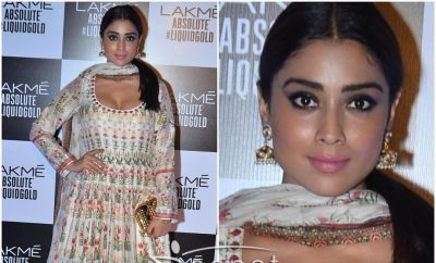 Shriya Saran In Anita Dongre Anarkali Churidar