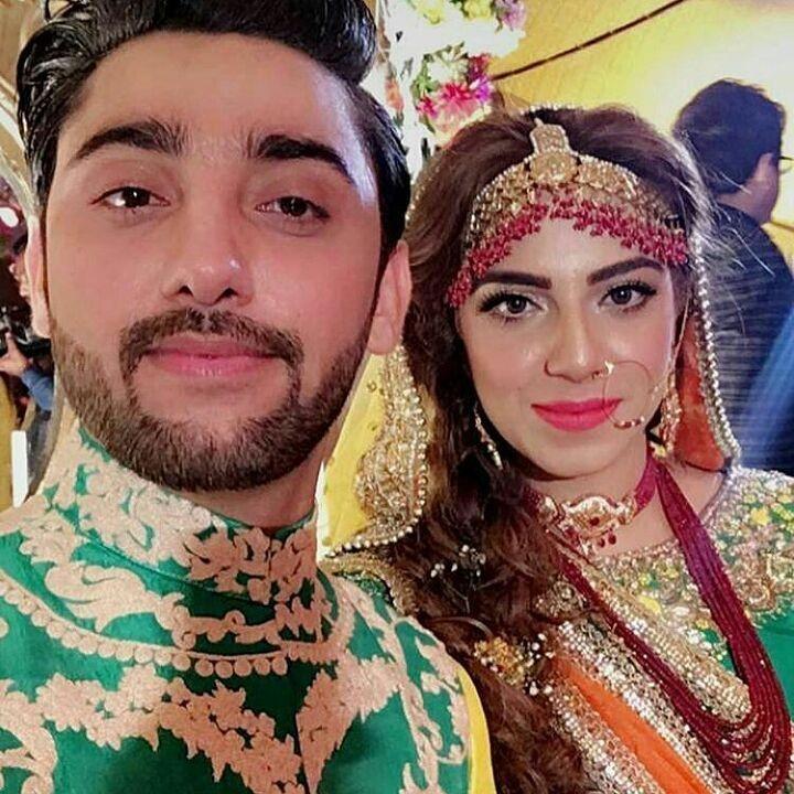 Amanat Ali and Sarah Mumtaz Mehndi Night