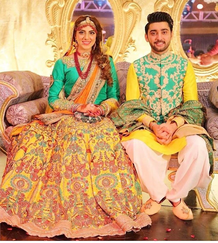 Amanat Ali and Sarah Mumtaz Mehndi Night