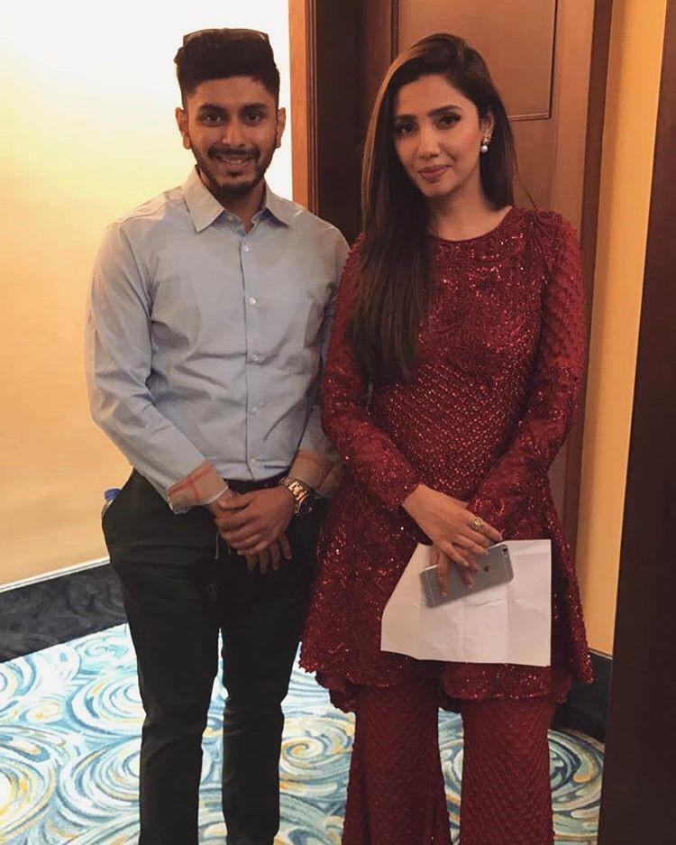 Mahira Khan at Global Teacher Prize Event