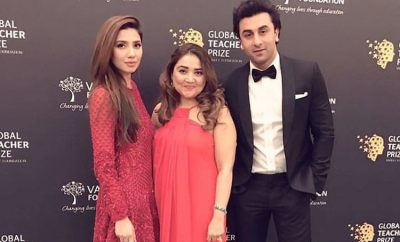 Mahira Khan at Global Teacher Prize Event
